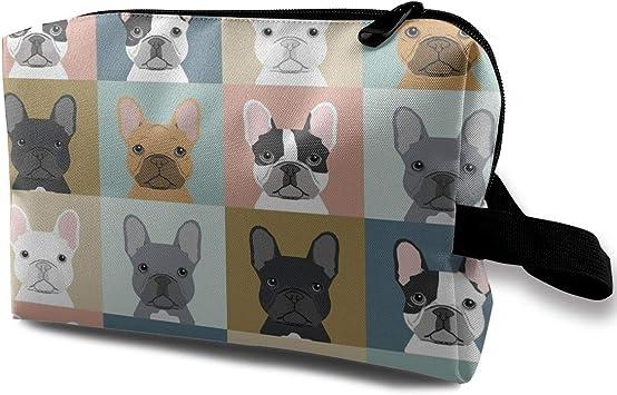 French Bulldog G Estuche de maquillaje y neceser – Bolsa de maquillaje para mujer: Amazon.es: Equipaje