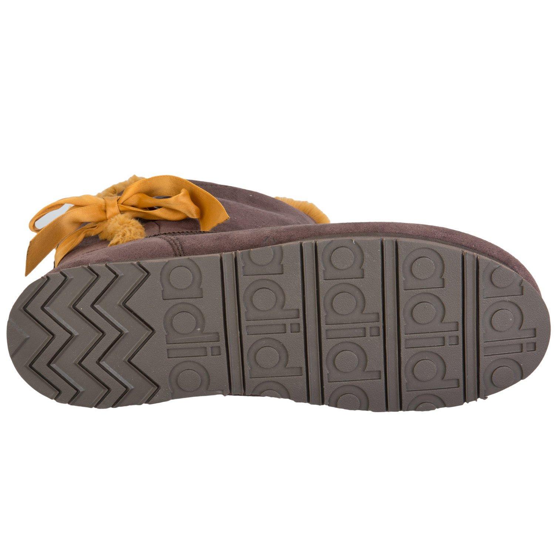 free shipping a303b 51a6b adidas NEO - Botas de Tela para Mujer marrón marrón, Color marrón, Talla 7  UK adidas NEO Amazon.es Zapatos y complementos