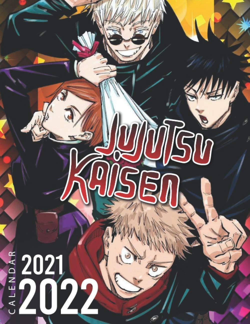 Jujutsu Kaisen Calendar 2021 2022 Special Calendar Planner For Fans 2 Years Calendar Calendar Jungler 9798595639989 Amazon Com Books