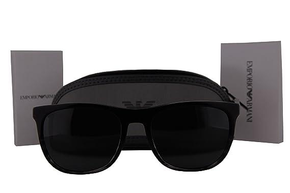 Emporio Armani EA4099 Sunglasses Black w Gray Lens 556687 EA 4099 ... 42a1e5f659