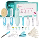 Baby Healthcare and Grooming Kit, 24 in 1 Baby Electric Nail Trimmer Set, Lupantte Nursery Care Kit, Toddler Nail…