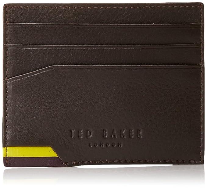super popular 8d66e 94674 Ted Baker Men's Spine Detail Card Holder: Amazon.co.uk: Clothing