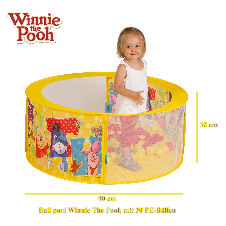 Piscine Pop-Up /À Balles Winnie Lourson 72036 Disney