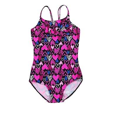 QinMM Bañador Bikini Estampado del bebé Niñas de una Pieza ...
