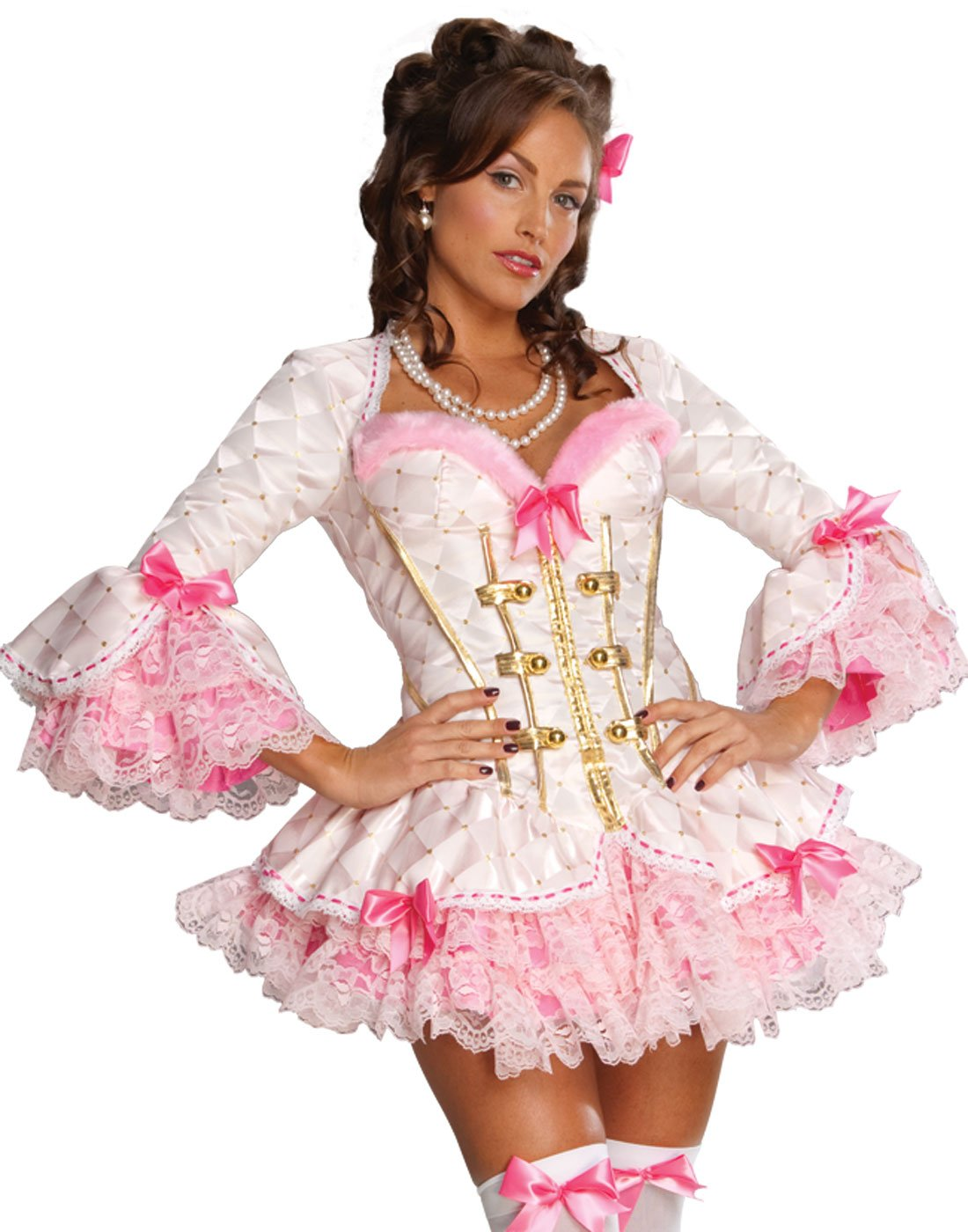 Secret Wishes Sexy Mon Ami Costume, Pink, X-Small by Secret Wishes