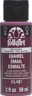 product image for FolkArt Teaberry Enamel Paint, 2 oz, 2 Fl Oz