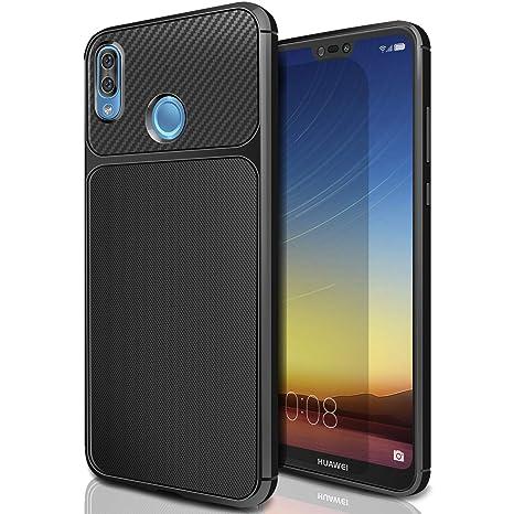 rivenditore di vendita 8a2e6 71fb6 Cover Huawei P20 Lite , AROYI Huawei P20 Lite Custodia TPU Silicone Case  Custodia Shock-Absorption Bumper e Anti-Scratch Back per Huawei P20 Lite -  ...