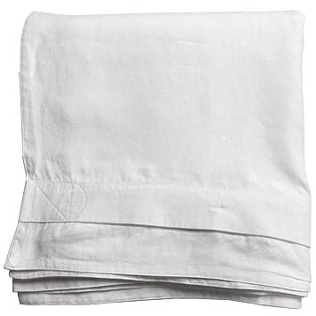 amazon com linoto belgian eco linen duvet cover optic white king