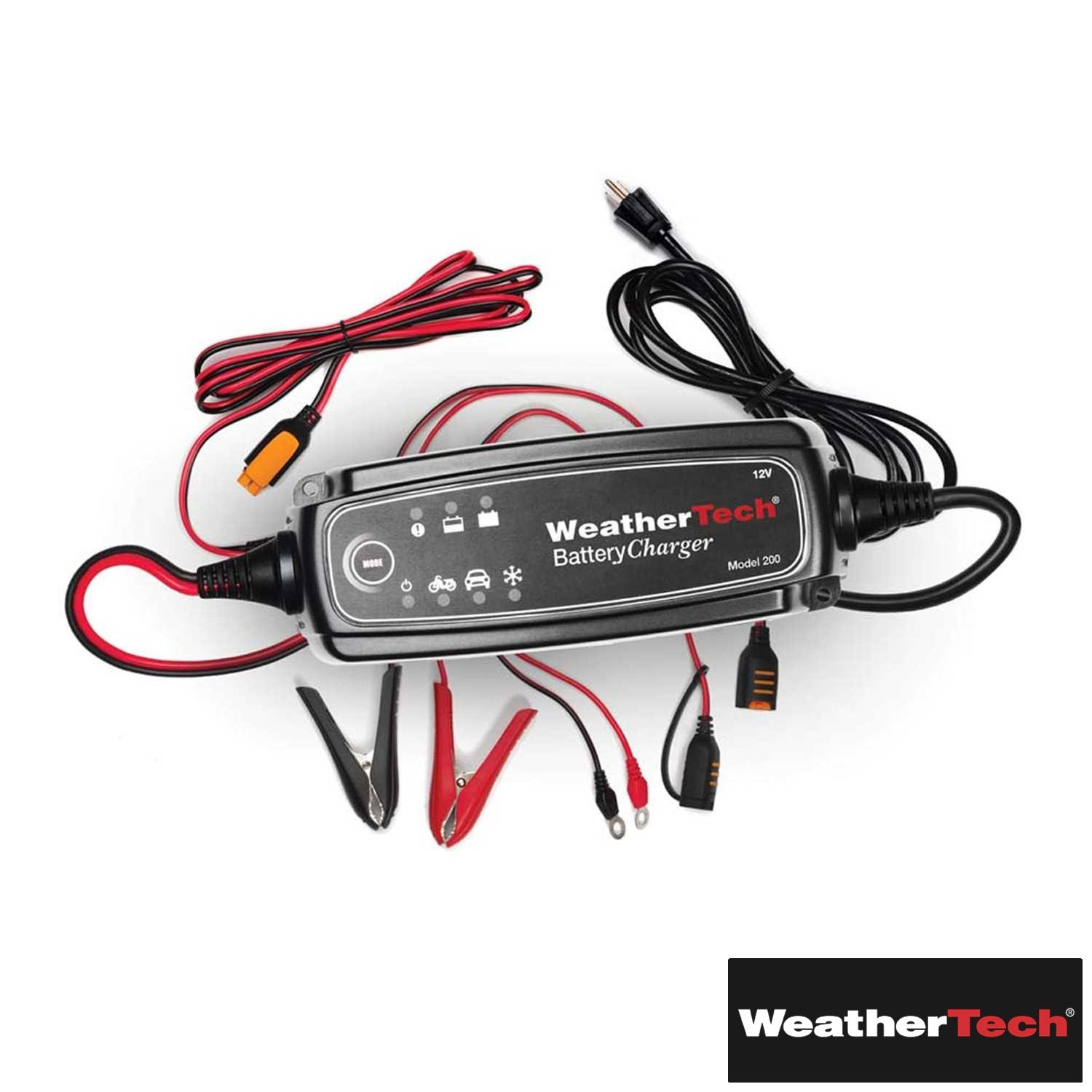 Weathertech (WEA129995-HR) Battery Charger 4 Amp 12V/16V Switchable - fits Non-Spec Vehicle - ALL | ALL