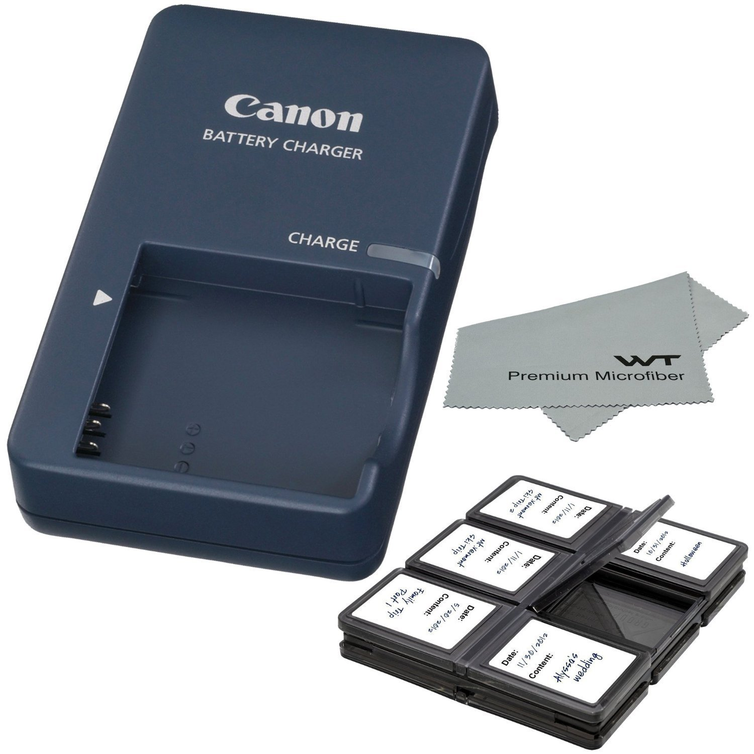 Canon CB-2LV Charger for Canon NB-4L Li-ion Battery compatible with Canon PowerShot SD40 SD30 SD200 SD300 SD400 SD430 SD450 SD600 SD630 + Bonus Items! by Canon