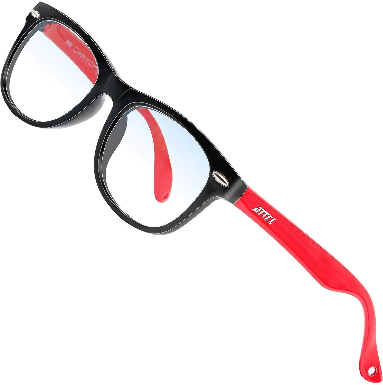 ATTCL Kids Blue Light Blocking Glasses for Boys Girls Computer Glasses Age 3-12 Blue Light Glasses 8196-Pink