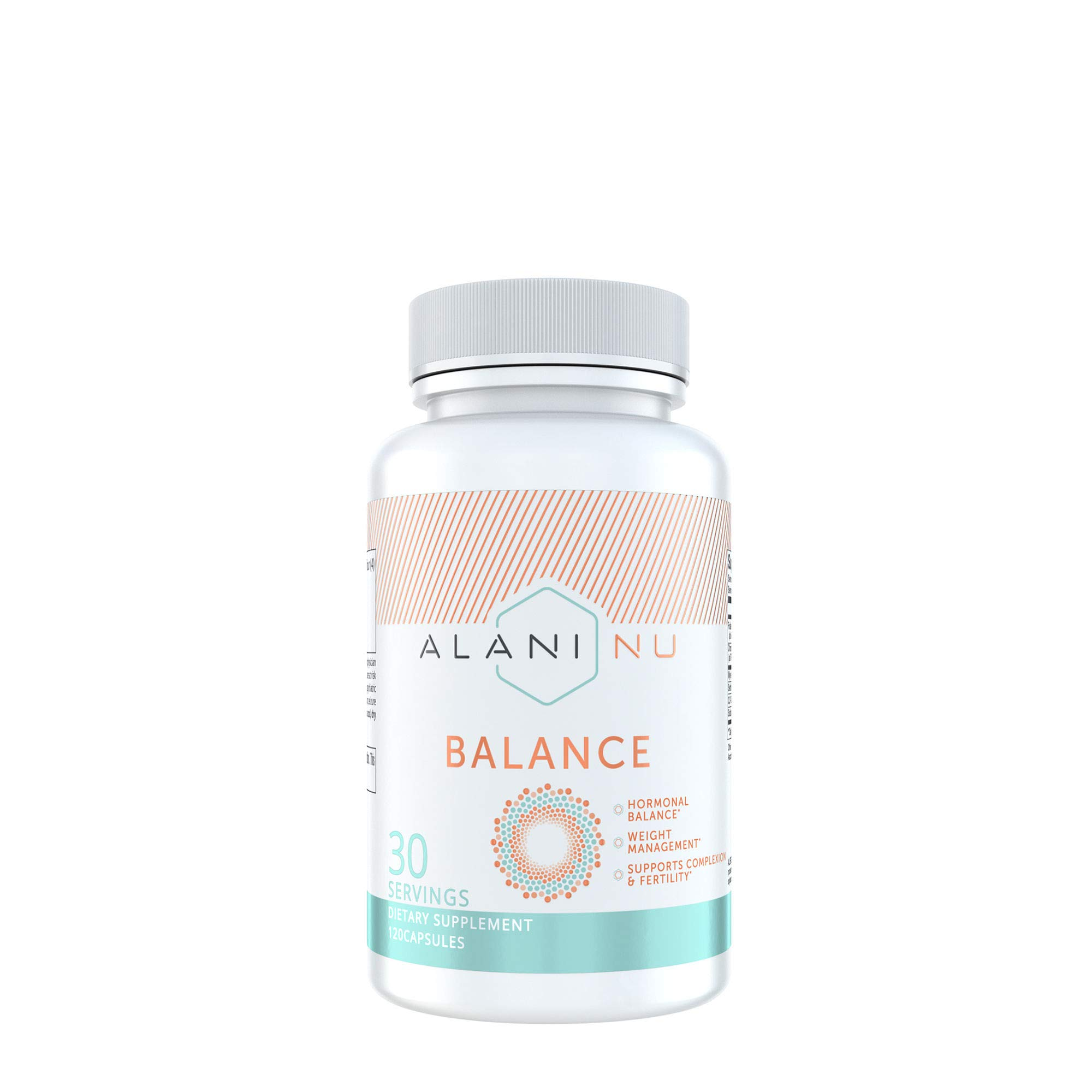 Alani Nu Hormonal Balance, Weight Management Support, Skin Complexion Support, 120 Capsules