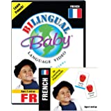 Bilingual Baby Learn French DVD and Flashcard Collection