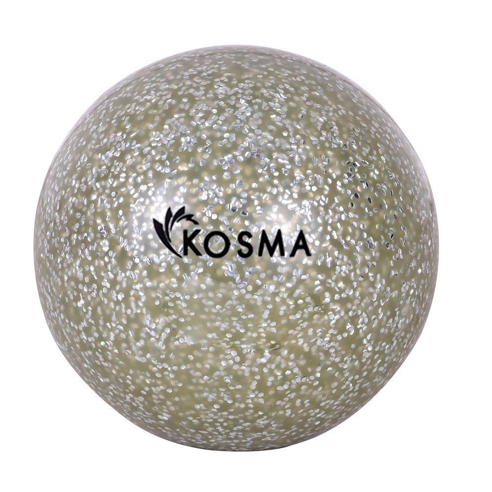 2 St/ück Kosma Glitzernder Hockeyball