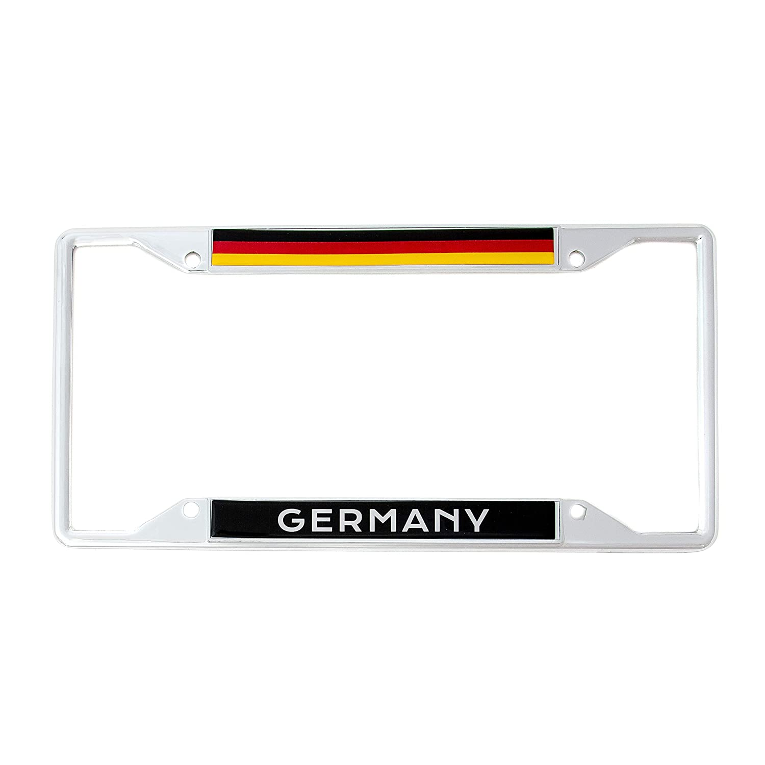 Desert Cactus Country of Germany Flag License Plate Frame for Front Back of Car Vehicle Truck German