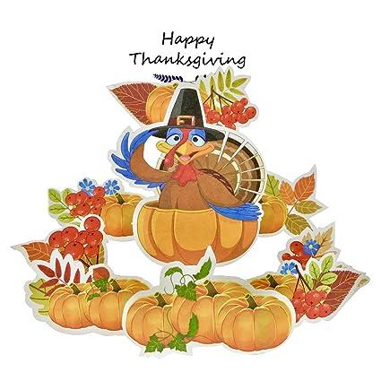 Amazon happy thanksgiving card 3d pop up thanksgiving happy thanksgiving card3d pop up thanksgiving greeting cards showing turkey pumpkins best thanksgiving present m4hsunfo