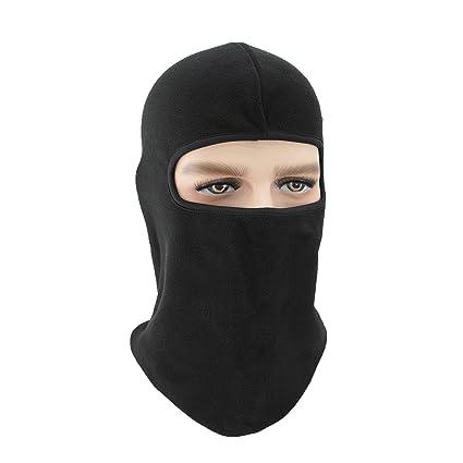 b748dafd515 JX Roco Windproof Full Face Mask Cover Caps Tactical Balaclava  Fleece Police Swat Neck