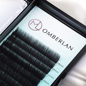 7899ff94caa Omberlan Eyelash Extensions 0.15 Thickness D Curl 8-15mm Mixed Tray 12 Rows False  Eyelashes