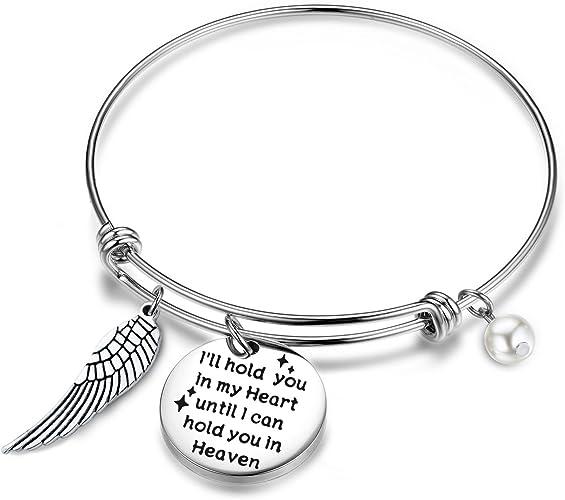 Forever In My Heart Bracelet In Memory Mom Dad Daughter Son Aunt Grandma Grandpa