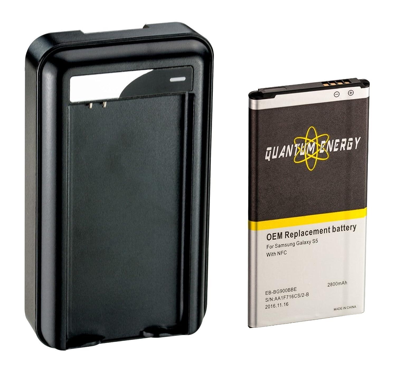 Amazon.com: Batería 2,800 mAh S5 QUANTUM ENERGY para Samsung ...