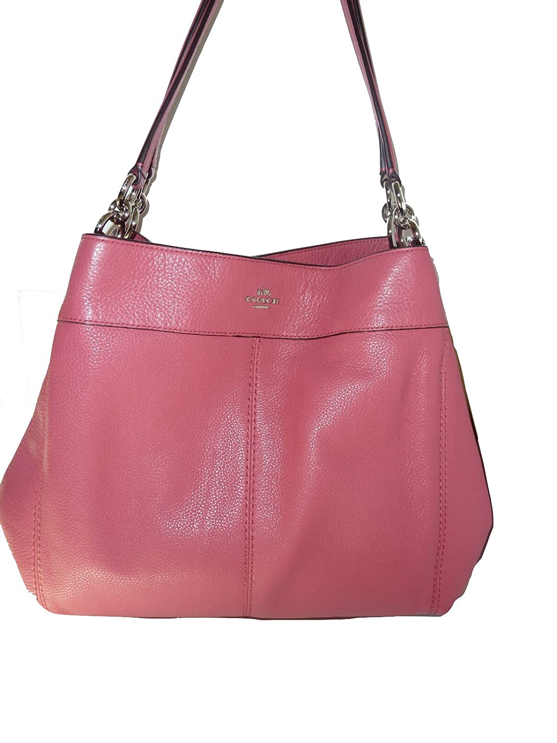 Coach Lexy Shoulder Bag In Pebbled Leather F57545 Imitation Gold ...