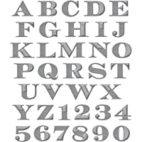 Spellbinders S5-239 Shapeabilities Etched Alphabet, Large