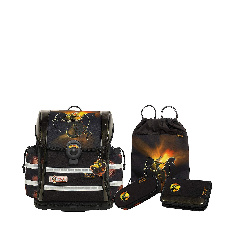 McNeill Schulranzen-Set ERGO LIGHT 912S Exclusive-Line, DRAKE, 4tlg. 4tlg. DRAKE, 4f60c8