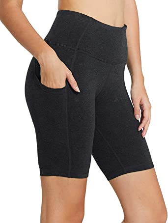 BIKER SHORTS HIGH WAIST TUMMY CONTROL 1 OR 6 Short Yoga Gym Leggings Active Wear