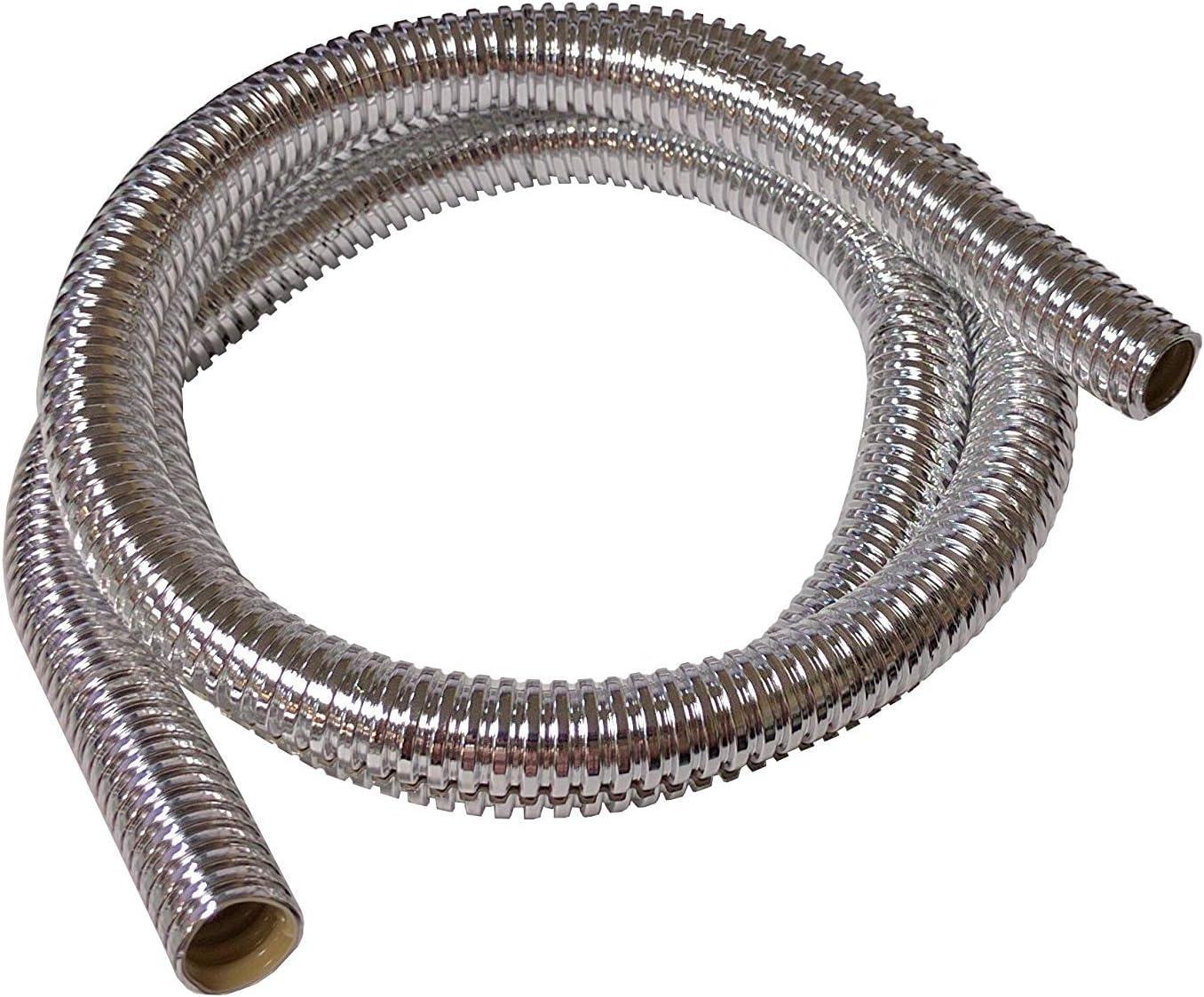 Chrome Bentley Harris 1//2 Convoshield Wire Loom 39 Long
