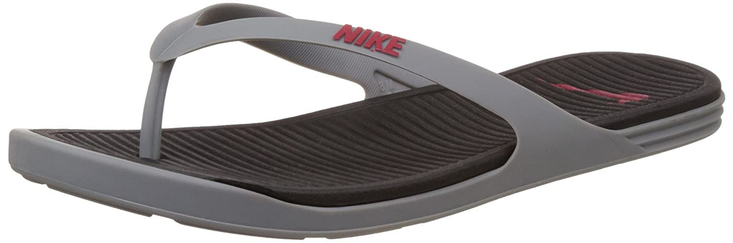 89da1a16f0e8 Nike Men s Matira Thong Shark Grey and University Red Flip-Flops and House  Slippers -10 UK India (45 EU)(11 US)  Buy Online at Low Prices in India -  Amazon. ...