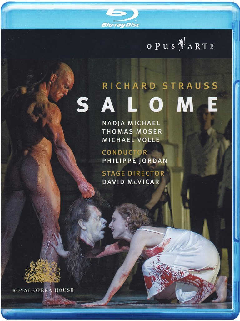 Blu-ray : Michael Volle - Salome (Blu-ray)