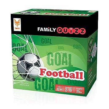 Topi Games Fam Fo 348901 Family Quizz Foot El Juego Para Todos