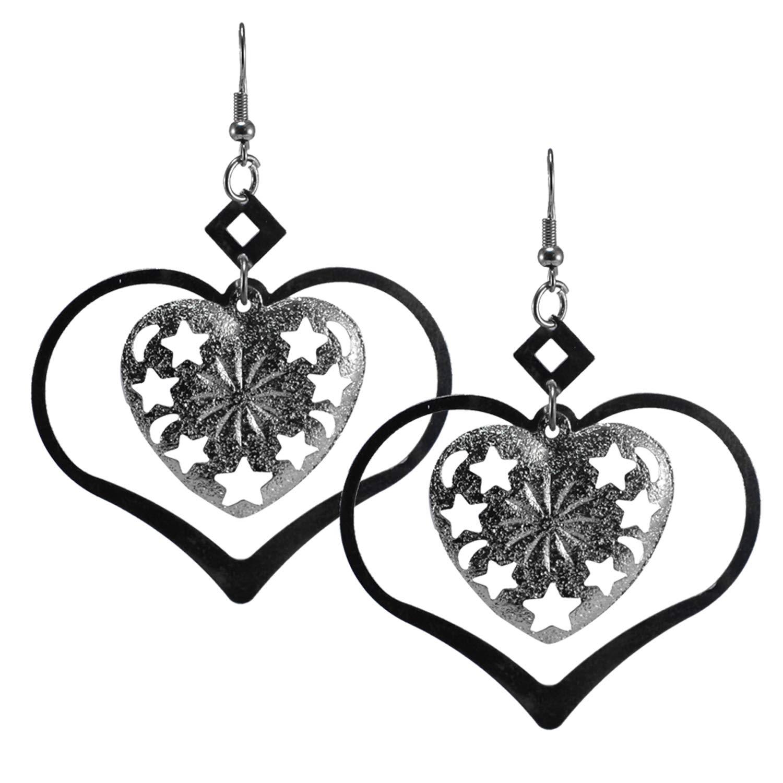 Silvestoo Jaipur 925 Silver Plated Earring For Women /& Girls PG-126501