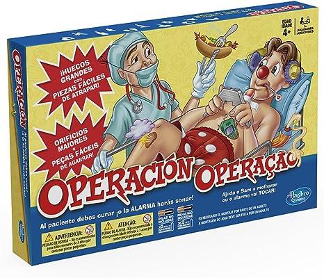 Hasbro Gaming - Juego de Mesa Operación (A4053175) (versión ...