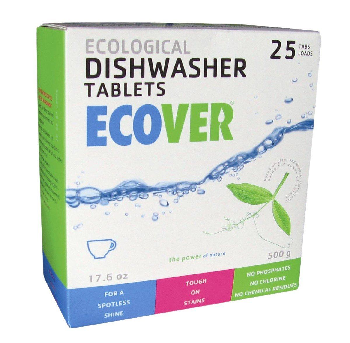 ECOVER ECO-60330P2 Auto ecológico pastillas para lavavajillas, 17 ...