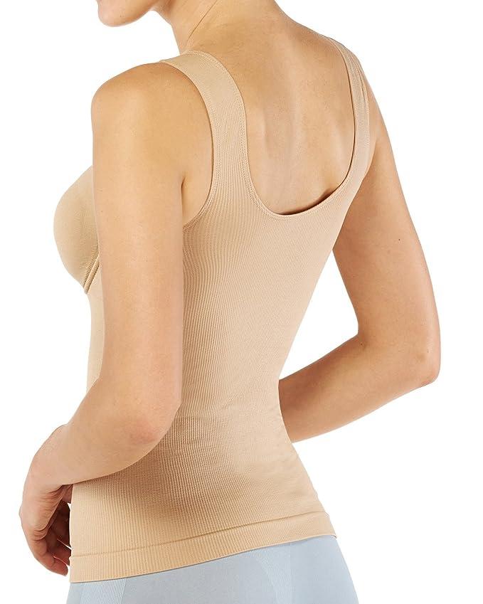 18c2448e3e20b Belugue Women s Seamless Shapewear Underwire Control Tank Top Camisole at  Amazon Women s Clothing store