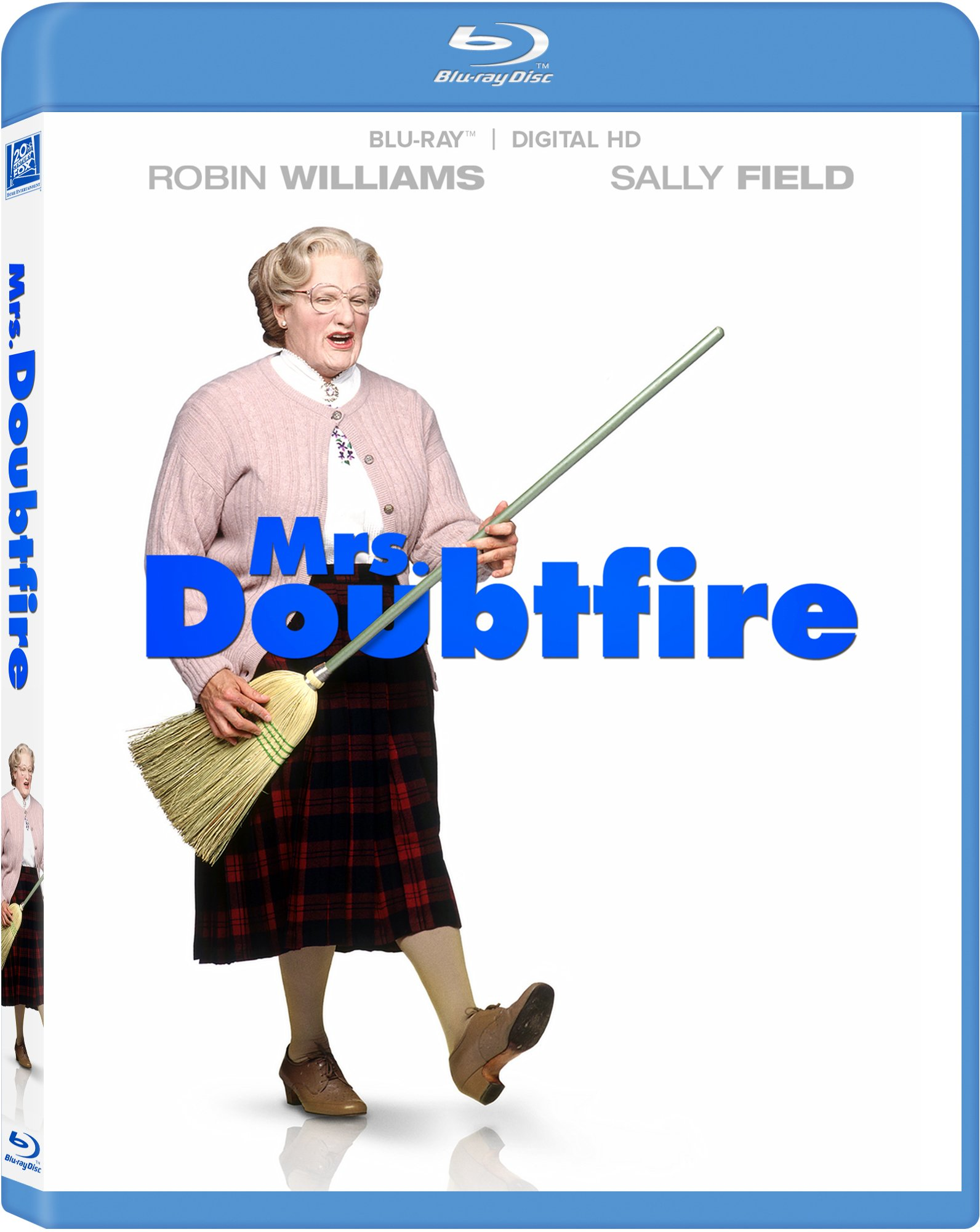 Blu-ray : Mrs. Doubtfire (Digitally Mastered in HD)