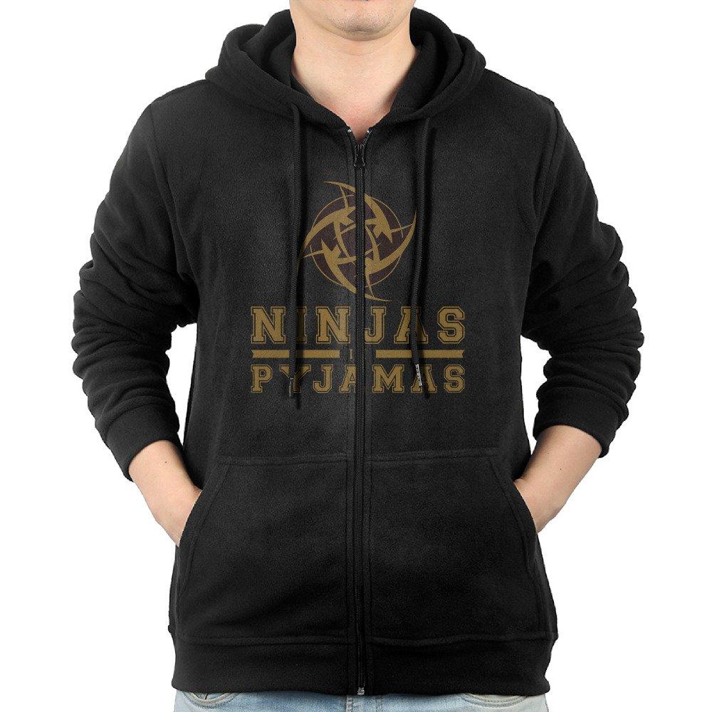 Amazon.com: Csgo NIP Ninjas In Pyjamas Logo Zipper ...