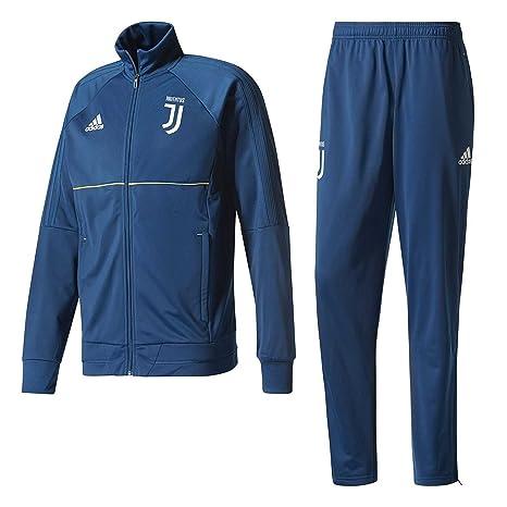 dc150fc007cb35 adidas Juventus PES, Tuta Uomo, Blu (Azunoc/Dorfue), M: Amazon.it ...