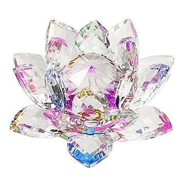 sumnacon fleur de lotus cristal pour la dcoration dans la maison idal cadeau pour