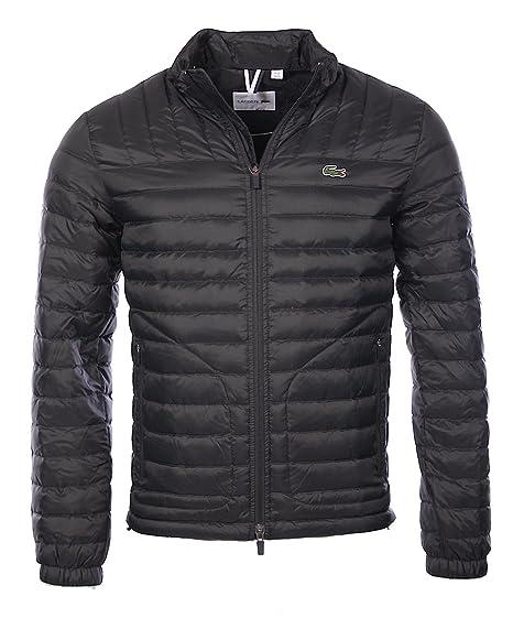 nouveau produit 74d2f 2ef4b Lacoste Homme - Doudoune Noir BH9642 - Taille vêtements - XS ...