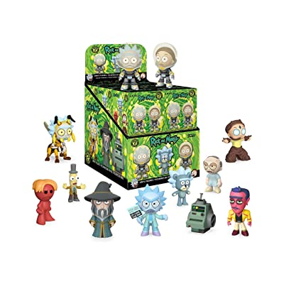 Funko Mystery Minis: Rick and Morty, Multicolor: Toys & Games