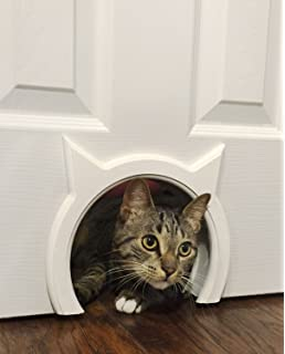 Attrayant The Kitty Pass Interior Cat Door Hidden Litter Box Pet Door For Cats Up To  21