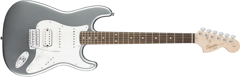 Fender Squier Affinity Stratocaster HSS Slick Silver: Amazon.es: Instrumentos musicales