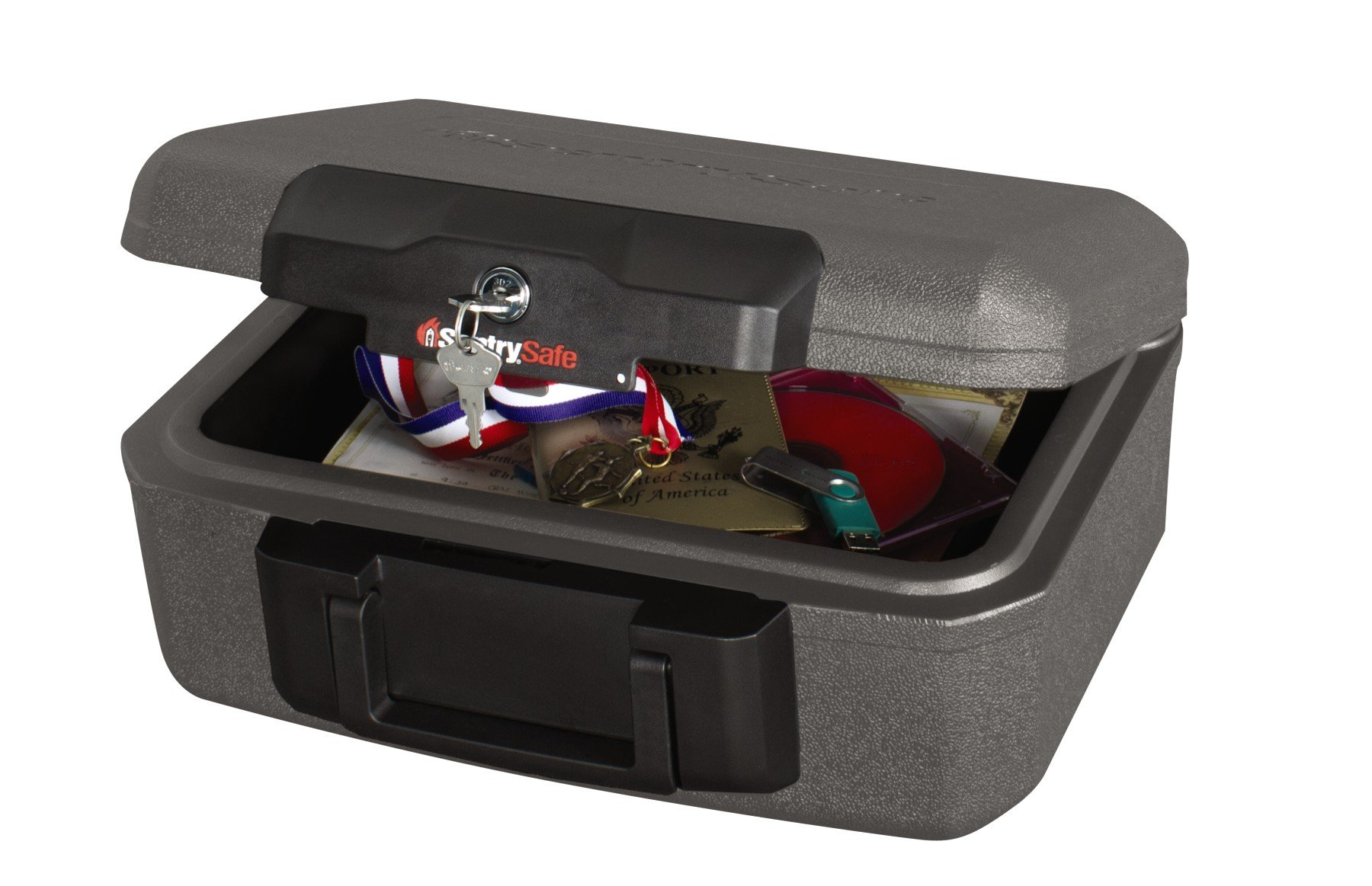 SentrySafe Fire Safe, Fire Resistant Chest, 0.18 Cubic Feet, Extra Small, 1210 by SentrySafe
