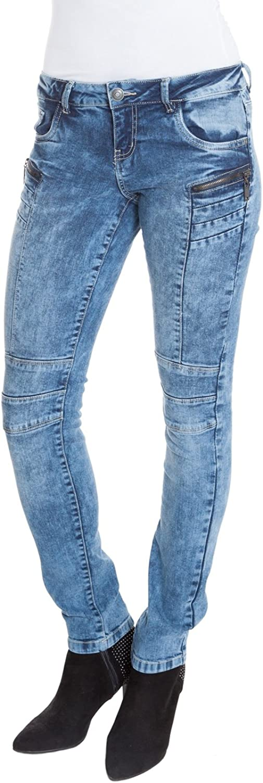 Suko Jeans Women's Skinny Fit Denim Pants