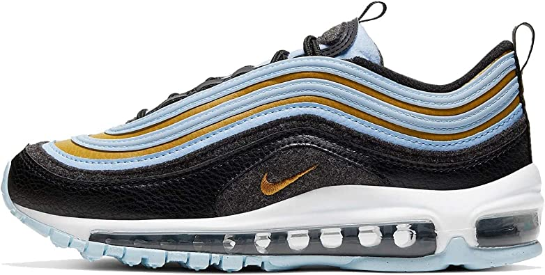 Amazon Com Nike Big Kids Air Max 97 Casual Shoes 3 5 Black