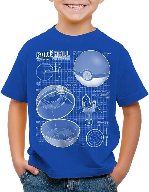 Camiseta Pokeball VideoJuego A.N.T ANOTHER NERD Gamer T-shirt boys
