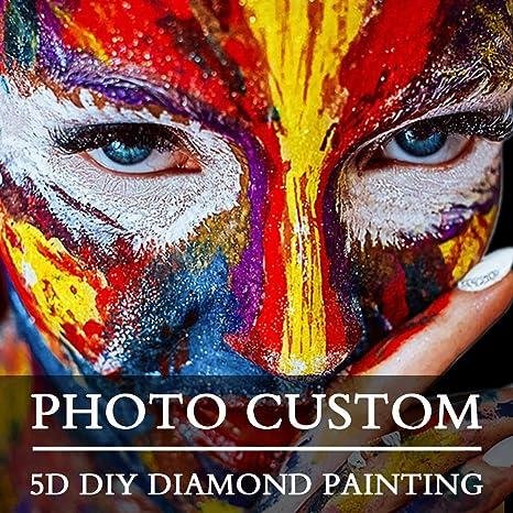 5D Full Drill Photo Custom Diamond Painting Embroidery Cross Stitch Kit Art Gift