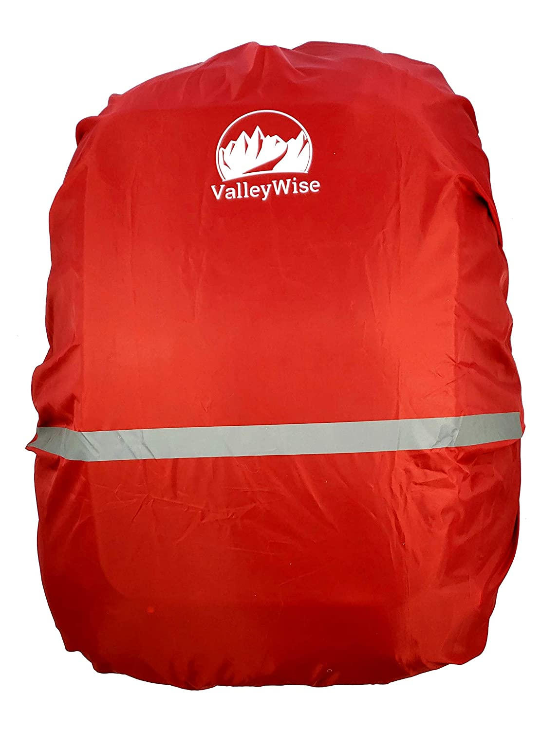 ValleyWise Waterproof Backpack Rain Cover | ONE Size FITS All Standard Backpacks | Premium Quality | Hiking, Camping, Traveling, Cycling, Outdoors | Non-Slip Buckle | Reflective Strip (Black) ValleyWise Products